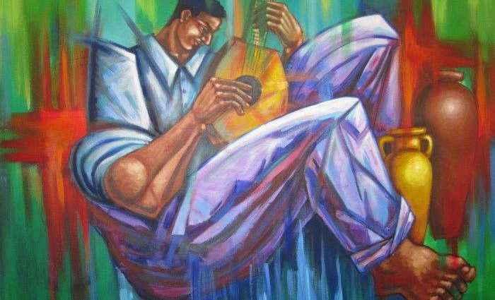 Пуэрторикканский художник. Johann Acevedo 1