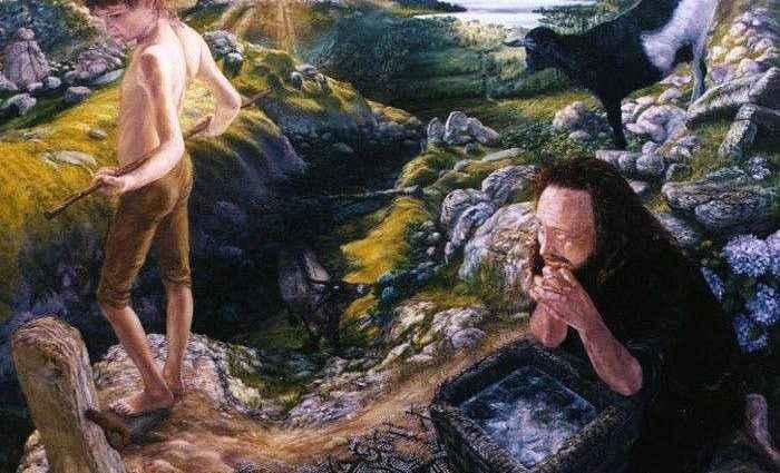 Британский художник. John Brockington 1