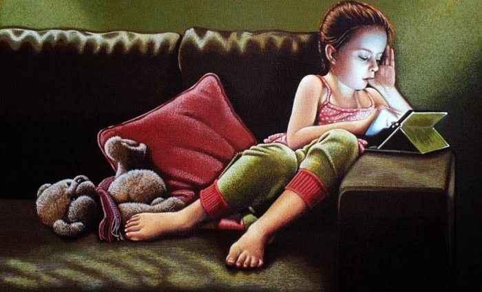 Британский художник. John Dulieu 1
