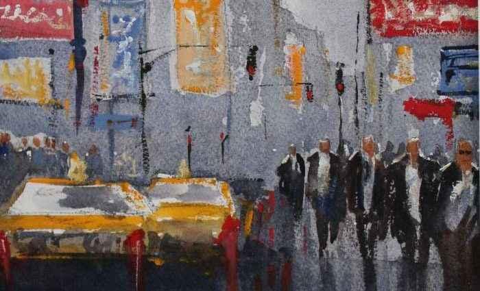 Британский художник. John Halliday 1
