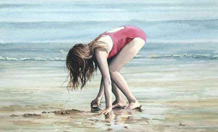 Искажение, отражение, движение и цвет. John Kerr 1