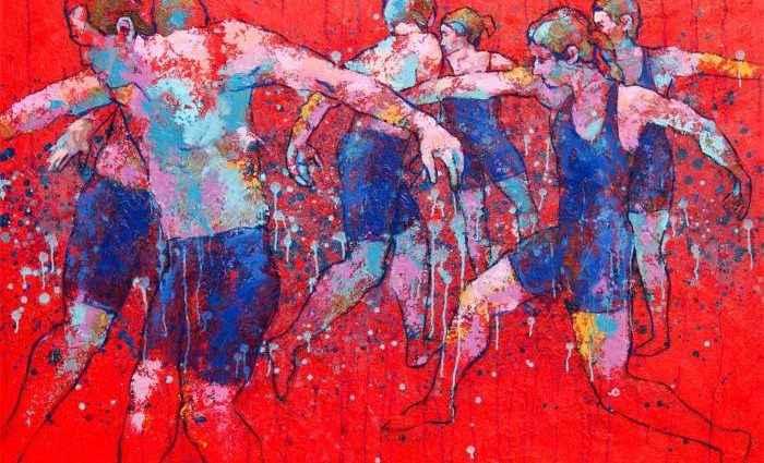 Американский художник. Jonathan Stone 1