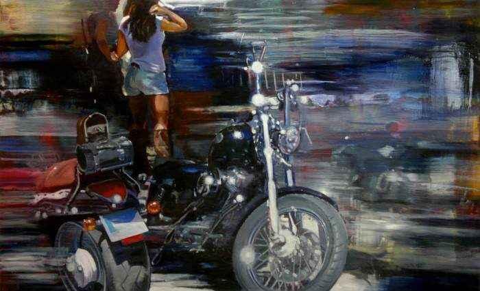 Испанский художник. Jose Maria Pinto Rey 1