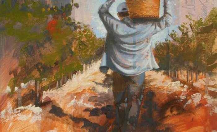 Испанский художник. Jose Miguel Alguer Romero 1