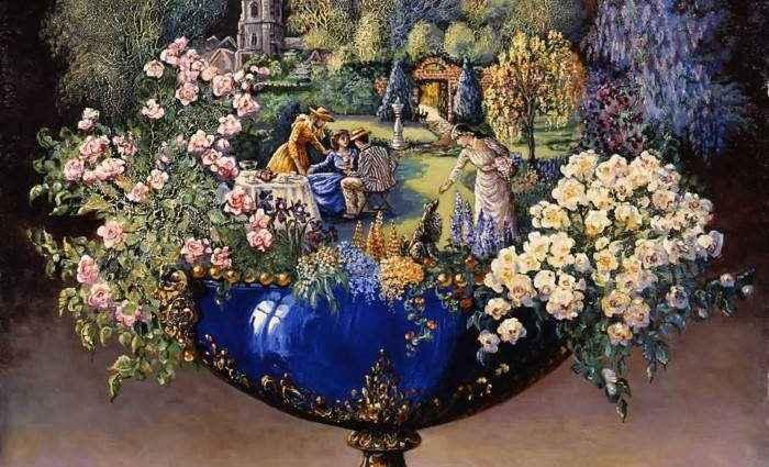 Британский художник-фантаст. Josephine Wall 1