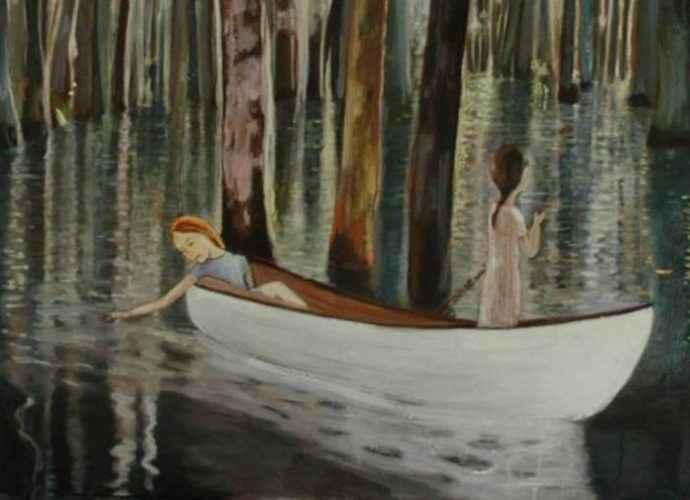 Хрупкие и поэтичные картины. June Sira 21