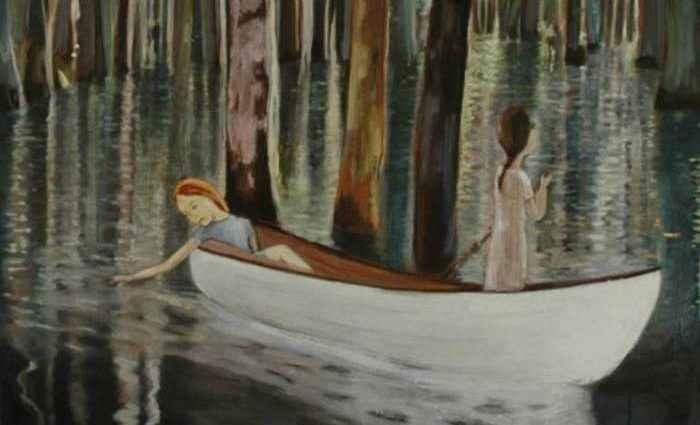 Хрупкие и поэтичные картины. June Sira 1