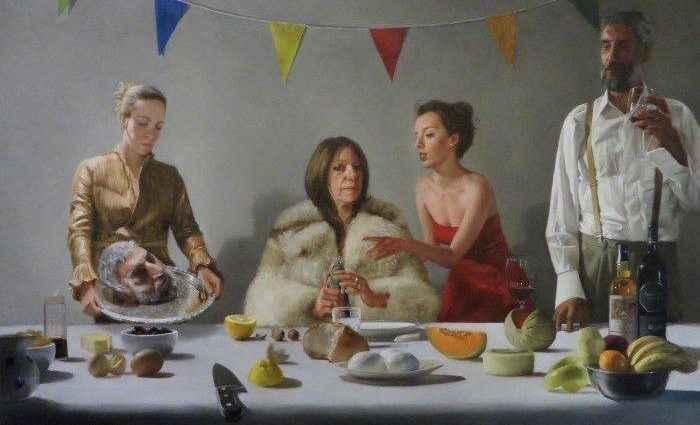Британский художник. Justin Bradshaw 1