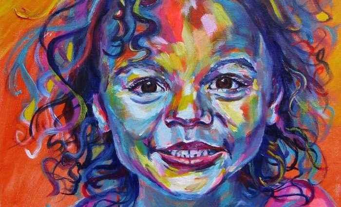 Выразительные и ярко красочные картины. Karin McCombe Jones 1