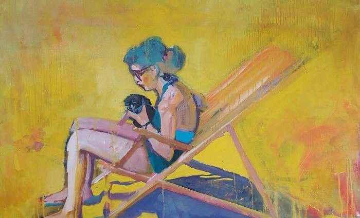 Британский художник. Katrine Storebo 1
