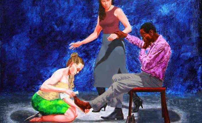Британский художник. Kimathi Donkor 1