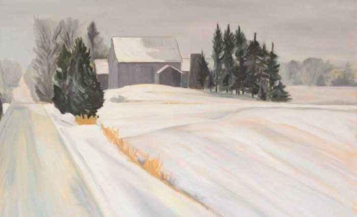 Канадский художник. Laurie Foote 1