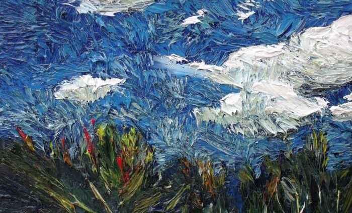 Масляные краски. Lia Aminov 1