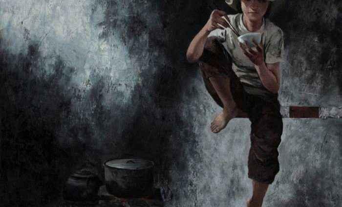 Вьетнамский художник. Lim Khim Ka Ty 1