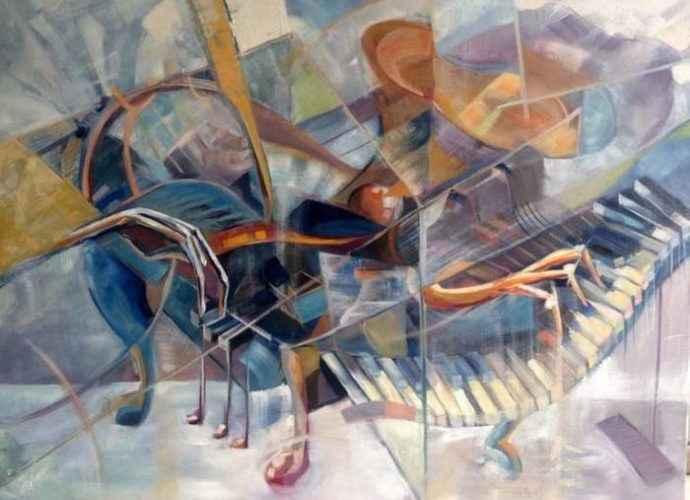 Вьетнамский художник. Loi Duc 43