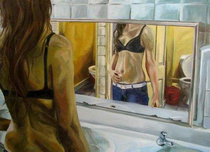 Чилийский художник. Lucia Rodriguez 66