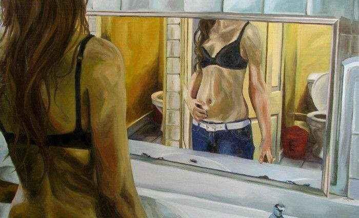 Чилийский художник. Lucia Rodriguez 1