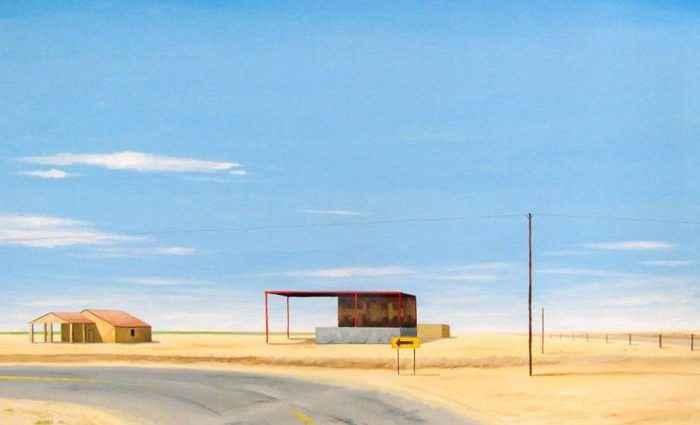 Пустые и забытые пейзажи. Lukasz Ratajczyk 1