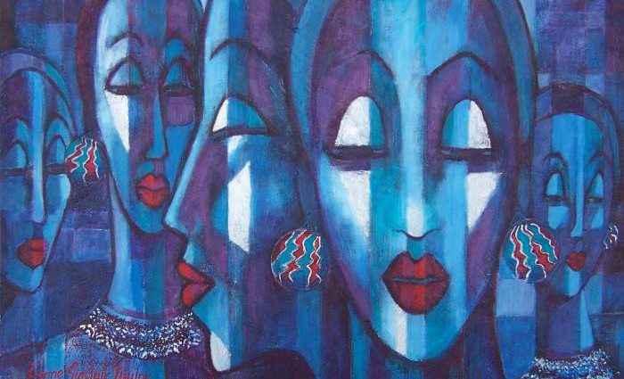 Новозеландский художник. Lynne Sinclair Taylor 1