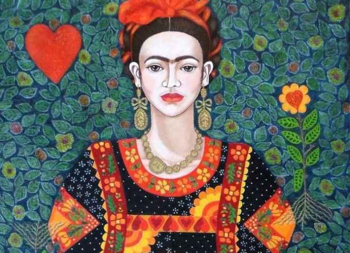 Сочетание цвета и боли. Чилийский художник. Madalena Lobao-Tello 70