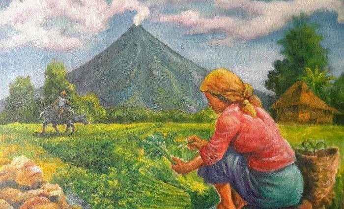 Личный мир в картинах филиппинского художника Manuel Cadag 1