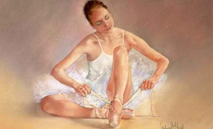 Британский художник. Margaret Merry 1
