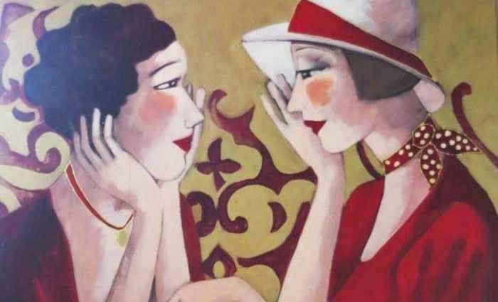 """Элегантные пожилые женщины или женщины """"серены"""". Marie Godest 1"""