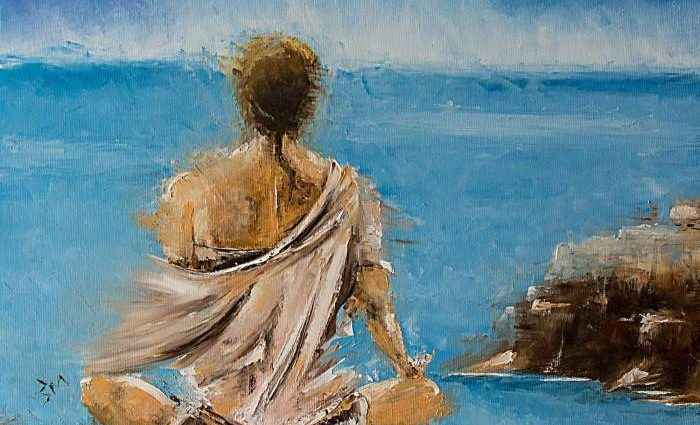 Хорватский художник. Marinko Saric 1