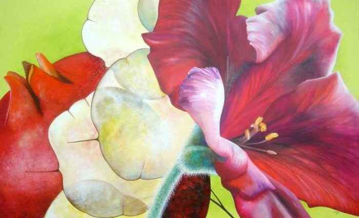 Голландский цветок. Marjolein Roeffel 1