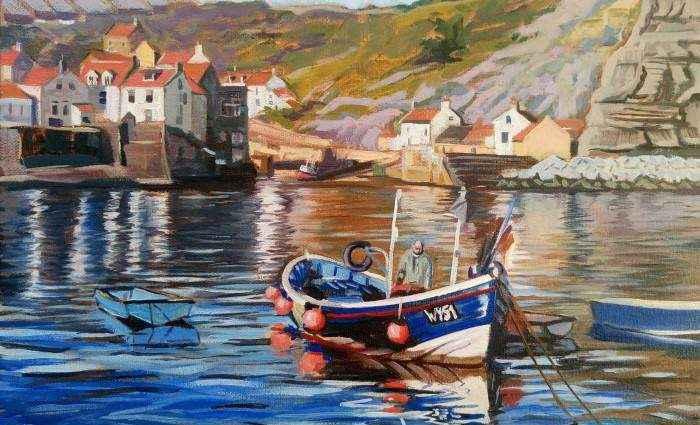 Британский художник. Mark Croucher 1
