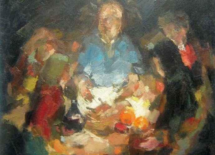 Теория формы. Хорватский художник. Mato Jurkovic 76
