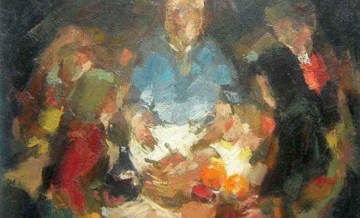 Теория формы. Хорватский художник. Mato Jurkovic 1
