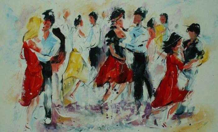Британский художник. Mel Davies 1