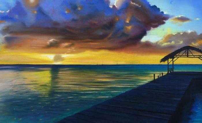 Британский художник. Michele Ashby 1