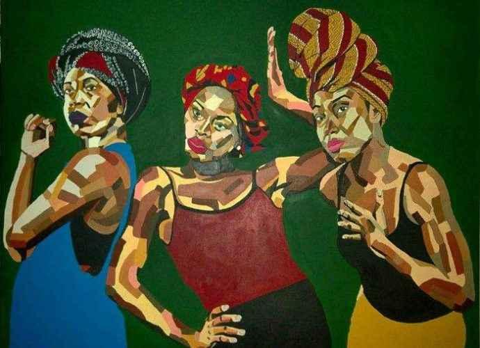 Образ черной женщины. Mikela Henry-Lowe 3