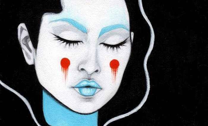 Женские лица в стиле Поп-арт. Montse Martin 1