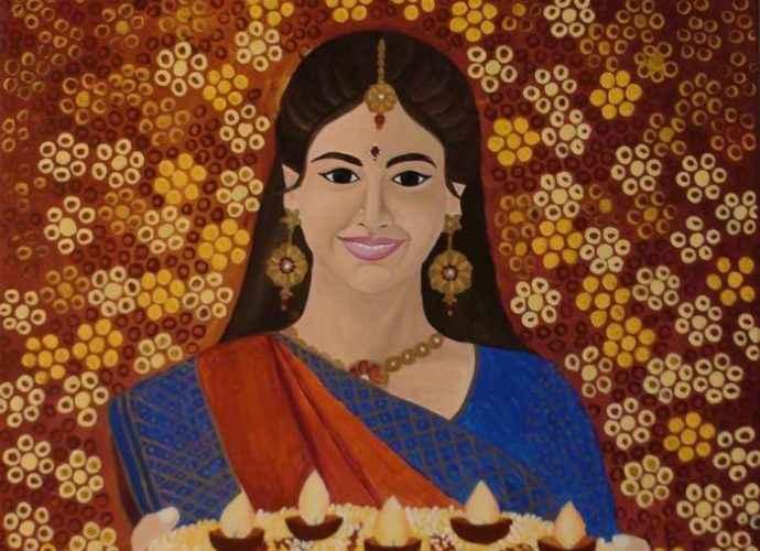 Индийский художник. Mounika Narreddy 13