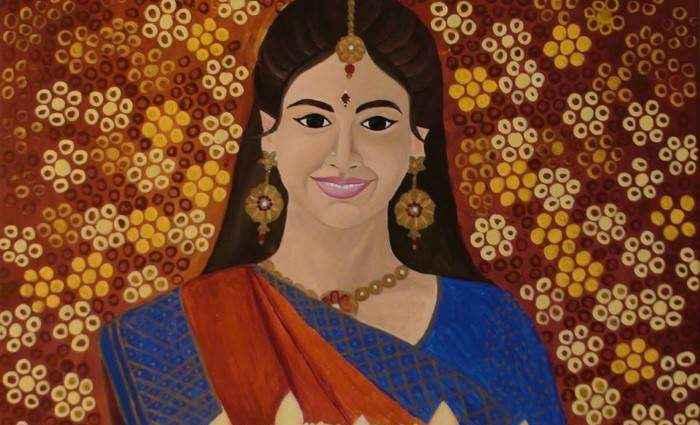 Индийский художник. Mounika Narreddy 1