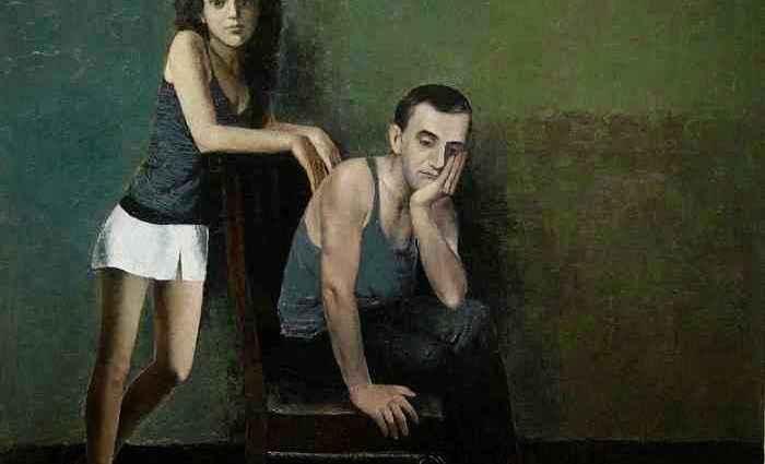 Талантливый грузинский художник. Murman Kutchava 1