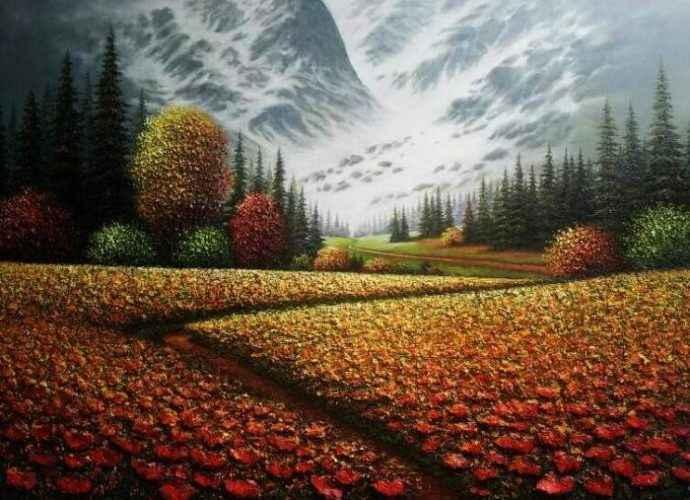 Корейский художник. Myung Mario Jung 194