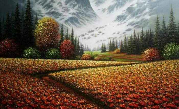 Корейский художник. Myung Mario Jung 1