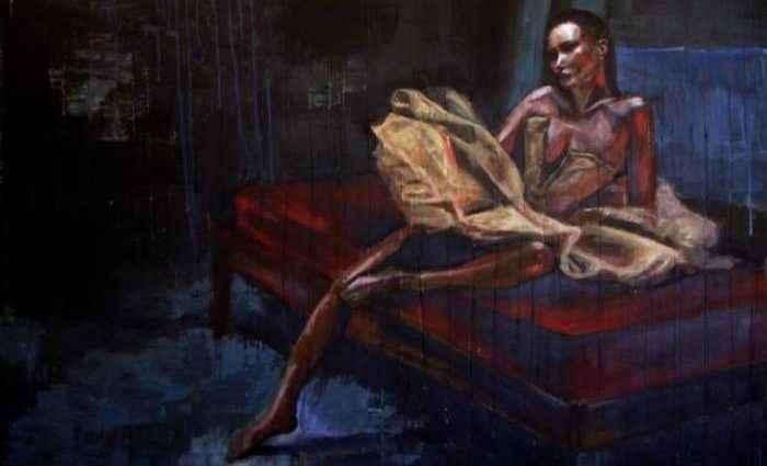 Фигуративная и абстрактная живопись. Nadia Rapti 1