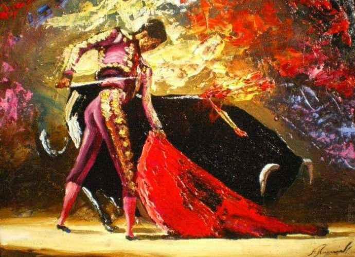 Армянский художник. Нарек Амбарцумян 46