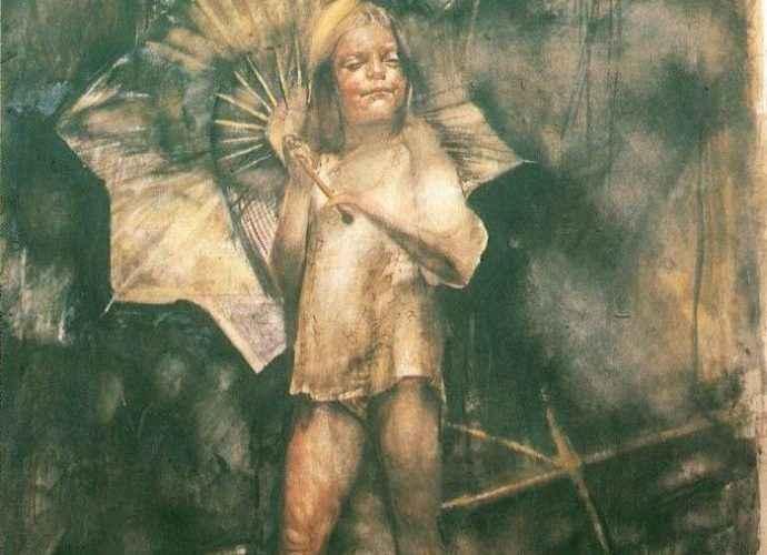 Современный греческий художник. Nikos Stratakis 136