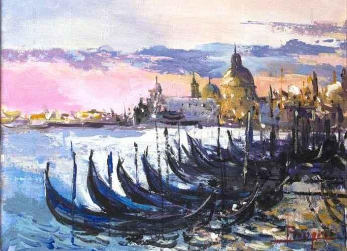 Румынский художник. Ovidiu Buzec 166