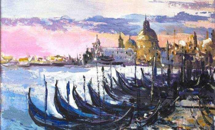 Румынский художник. Ovidiu Buzec 1