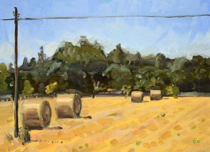 Шотландский художник. Owen Normand 145