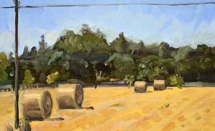 Шотландский художник. Owen Normand 1