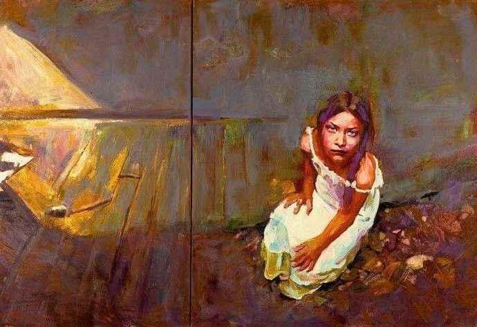 Греческий художник. Papoulia Smaragda 134