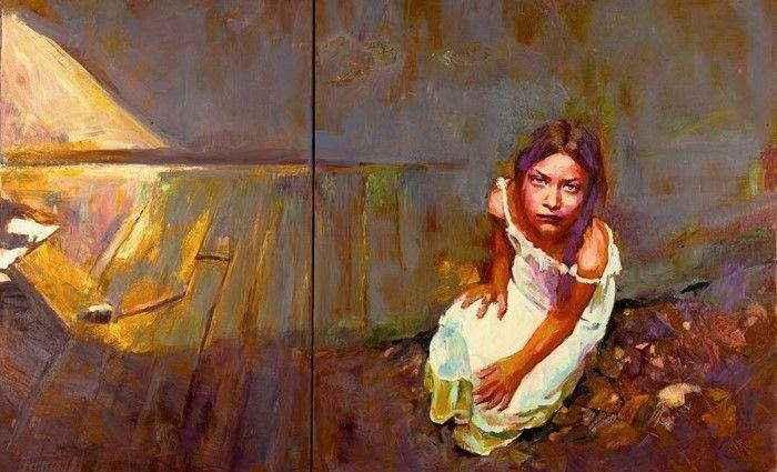 Греческий художник. Papoulia Smaragda 1